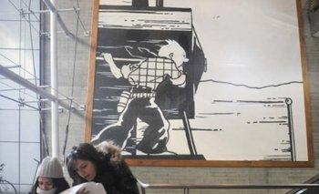 Se inaugurará un mural para decorar una estación ferroviaria de Bruselas