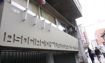 Sede de la AUF en la calle Guayabos