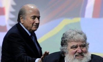Joseph Blatter y Chuck Blazer