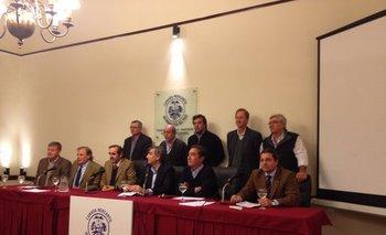 La conferencia se realizó en la Cámara Mercantil de Productos del País<br>