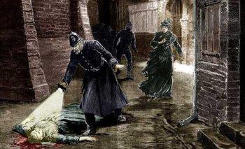 Una ilustración de uno de los crímenes de Jack el Destripador, casos de los cuales se exhibirán objetos en el museo del crímen de Scotland Yard