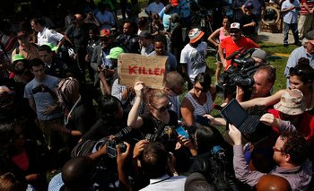 En abril una serie de protestas se desencadenaron en Maryland por la muerte de un joven negro.