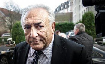Dominique Strauss-Kahn.<br>