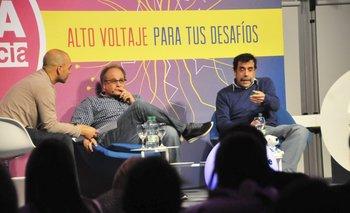 Gabriel Colla, Pablo Brenner y Miguel Brechner<br>