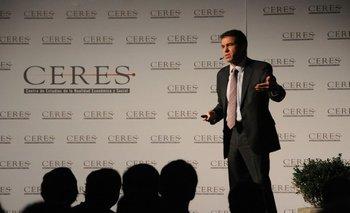 Director académico de Ceres, Ernesto Talvi.<br>