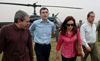 Cristina Fernández y su equipo esperan sumar poder en Mendoza y Tierra del Fuego<br>