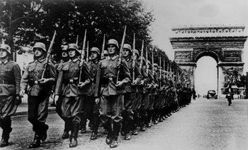 La entrada en París, una de las mayores proezas del régimen nazi <br>
