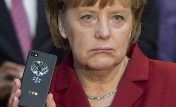 A Merkel le ha hecho muy poca gracia esta situación