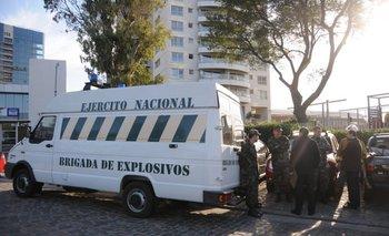 El 15 de junio apareció un tercer artefacto aparentemente explosivo en las inmediaciones de la embajada de Israel
