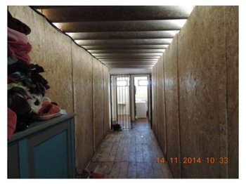 Acceso a los baños del Hogar Infantil de Rocha