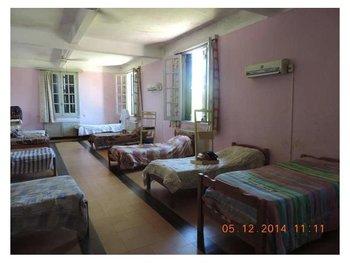 Dormitorio del Hogar Infantil de Paysandú