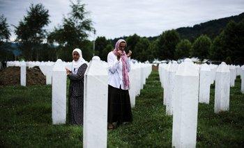 Mujeres bosnias homenajean a sus muertos de la guerra de los Balcanes<br>