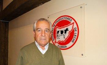 Alfredo Morales, presidente de la Sociedad de Productores de Leche de Florida.<br>