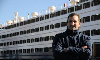 Rodrigo González, de la exportadora de ganado en pie Escoltix SA<br>