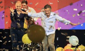 Macri busca una buena votación para llegar bien parado a octubre<br>