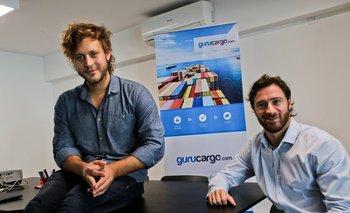 Los fundadores de Gurucargo.com, Andrés Israel  y Alejandro Esperanza