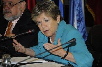 Alicia Bárcena, secretaria de la Cepal,  advirtió que la región tendrá un crecimiento menor en 2022 al que verá en 2021, con una expansión estimada de 2,9%.