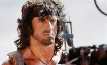Con sus 69 años, Sylvester Stallone se prepara para una nueva película como Rambo