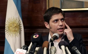 El gobernador de la provincia de Buenos Aires, el kirchnerista Axel Kicillof