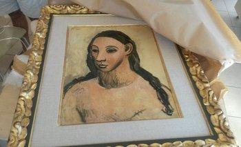 """El cuadro """"Cabeza de mujer joven"""", de Picasso"""