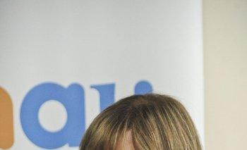 <b>Gabriela Fulco, presidenta del Inisa</b><br>