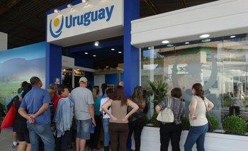 Coordinadores del stand uruguayo repasaron los principales motivos de consultas de inversores.<br>