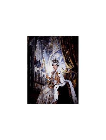 La celebración de su coronación en 1953 fue la primera en ser televisada.