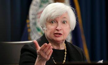 Janet Yellen, jefa de la Reserva Federal <br>