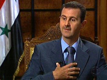 Bachar al Asad, presidente de Siria