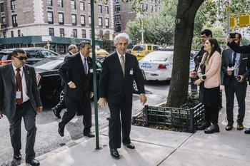 Vázquez visita este lunes 28 de septiembre el Consejo de las Américas en el marco de su visita a Estados Unidos.