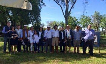 Familia Trila, familia Cánepa, integrantes del escritorio y Fernando y Gustavo Blanco