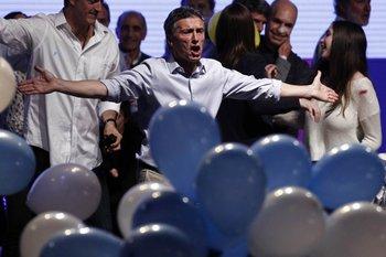 Mauricio Macri fue el segundo más votado pero el ganador inesperado de la jornada. <br>