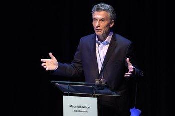 Mauricio Macri.<br>