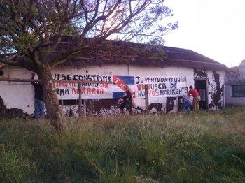 Integrantes de UTAA ocuparon un campo de Colonización en Bella Unión.<br>