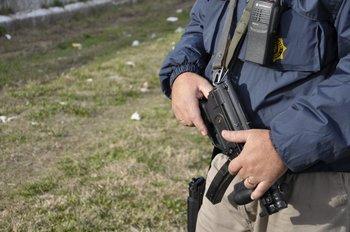 Policía en operativo de Cerro Norte.