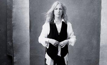 La roquera Patti Smith