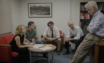 Los actores de Spotlight trabajaron con los periodistas del Boston Globe para preparar sus papeles.