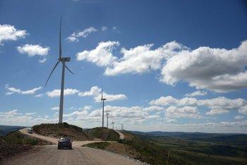 En Uruguay hay unos 1.500 MW de energía eólica instalados.<br>