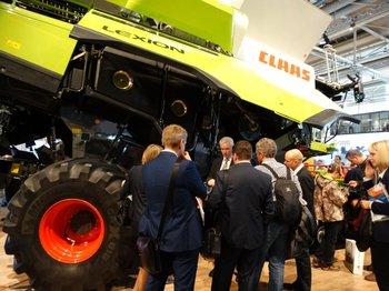Claas es líder del mercado europeo de cosechadoras<br>