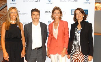 Beatríz Ponce de León, Ignacio Pakciarz, Fernanda Guliak e Inés Bonicelli