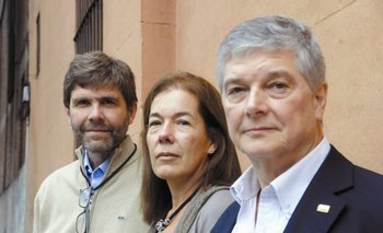 Jaime Bonomo, María Elena Salinas y Eduardo Palacios