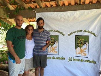 Rodrigo Luzardo, Patricia Fazzio y Marcos Luzardo