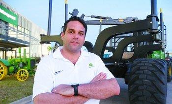 Francisco Fros, nuevo gerente de la División Forestal de Interagrovial SA.<br>