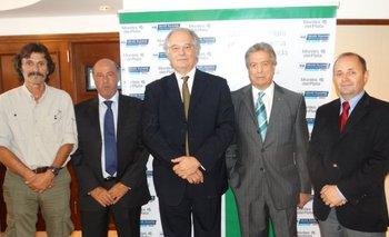 Gerardo Barrios, Fernando Cammarota, Luis María Rodríguez, Jorge Tomasi y Ricardo Brunner