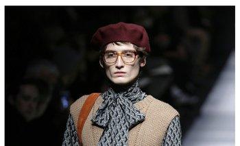 Gucci ofreció una de las colecciones masculinas que dieron más que hablar gracias a su ruptura de género