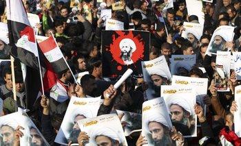 En Irán hubo grandes manifestaciones en contra de Arabia Saudita