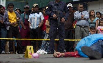 Ola de violencia en Guatemala, un hombre es mutilado en plena calle