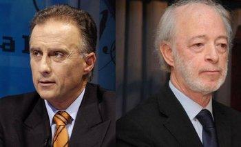 Fernando Calloia y Juan Carlos López Mena