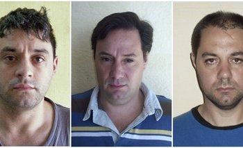 Víctor Schillaci, Martin Lanatta y Cristian Lanatta<br>