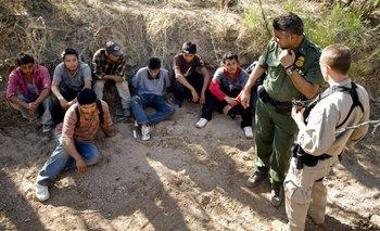 Las acostumbradas redadas en la frontera entre Estados Unidos y México<br>